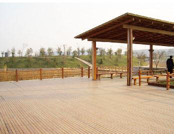 公园塑木地板